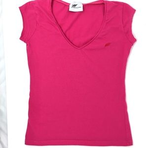 Tops - Fitted V neck Top